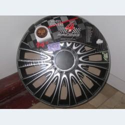 Колпаки LE MANS PRO Silver&Black R14 (24)